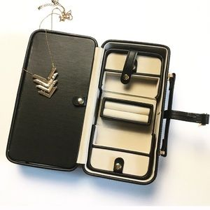 Jewelry Organizer Case with Removable Travel Box
